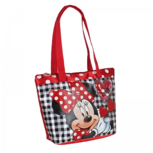 "bolso shopping minnie mouse ""i love minnie"" :: imagen 1"