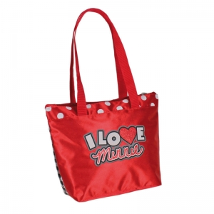 "bolso shopping minnie mouse ""i love minnie"" :: imagen 2"