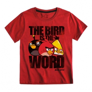 "camiseta para niño - angry birds ""the bird is the word"" / Talla 6 :: imagen 1"