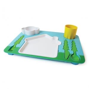 """bandeja - servicio de mesa para niños """"landscape"""""""