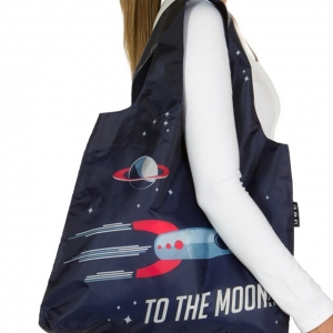 "bolsa reutilizable envirosax ""to the moon"" :: imagen 2"