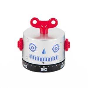 "minutero ""robot"" / gris plata"
