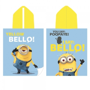 "poncho de playa gru, mi villano favorito ""minion bello"" :: imagen 1"