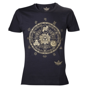 "camiseta the legend of zelda ""golden map"" / Talla L :: imagen 1"