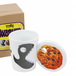 "taza ""museum mugs cookie monsters"" :: imagen 1"