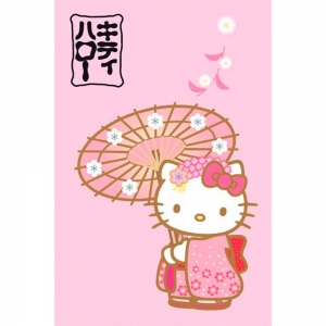 "manta polar hello kitty ""japan"" :: imagen 1"