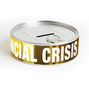 "hucha kit de supervivencia ""financial crisis"" :: imagen 1"
