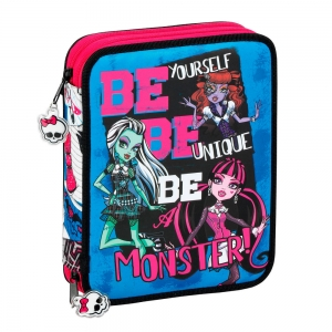 "estuche doble completo monster high ""be yourself"" / grande :: imagen 1"