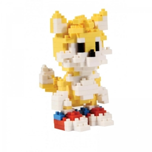 "pixel bricks sonic the hedgehog ""tails"" :: imagen 1"