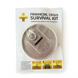 "hucha kit de supervivencia ""financial crisis"" :: imagen 5"
