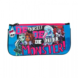 "estuche portatodo plano monster high ""be yourself"" :: imagen 1"