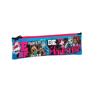 "estuche portatodo estrecho monster high ""be yourself"" :: imagen 1"