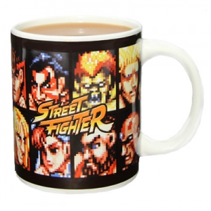 "taza street fighter ""screen select"" :: imagen 1"