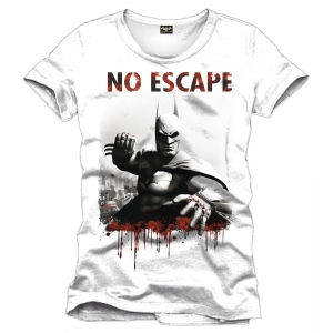 "camiseta batman - arkham city ""no escape"" / Talla L :: imagen 1"