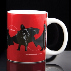 "taza star wars ""darth vader dance instructions"" :: imagen 2"