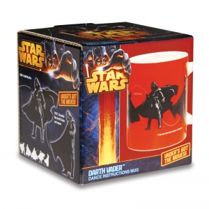 "taza star wars ""darth vader dance instructions"" :: imagen 3"