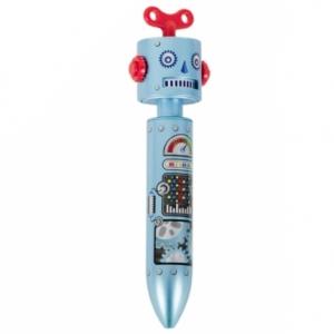 """bolígrafo """"robot"""" / azul"""