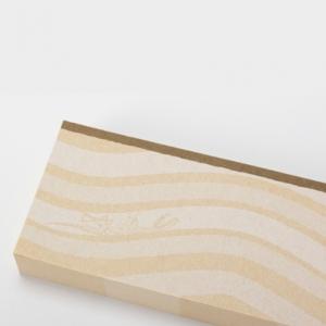 """bloc de notas """"capas del estrato"""" / marrón"""