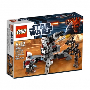 lego 9488 star wars - elite clone trooper & commando droid battle pack :: imagen 1