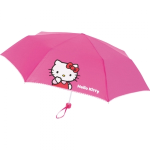 Deconexo paraguas plegable hello kitty