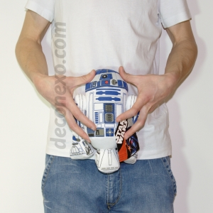 "pack de peluches star wars - ""r2-d2"", ""yoda"" y ""darth vader"" / 25 cm :: imagen 3"