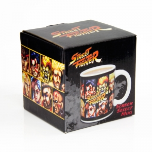 "taza street fighter ""screen select"" :: imagen 2"