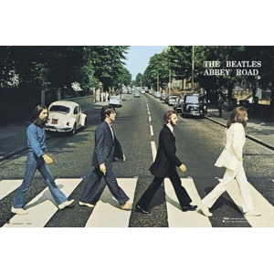 "póster the beatles ""abbey road"" :: imagen 1"