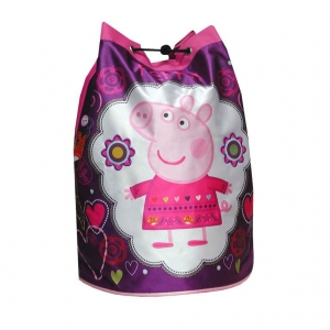 "bolso saco peppa pig ""collage"" :: imagen 1"