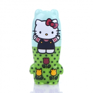 "memoria usb pendrive mimobot hello kitty ""fun in fields"" / 2GB :: imagen 1"