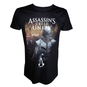 "camiseta assassin's creed - unity ""hidden arno in the streets of paris"" / Talla S :: imagen 1"