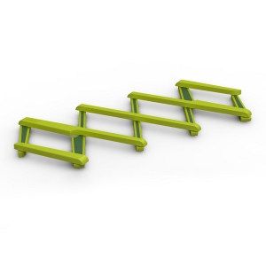 "salvamanteles extensible ""stretch"" / verde :: imagen 2"