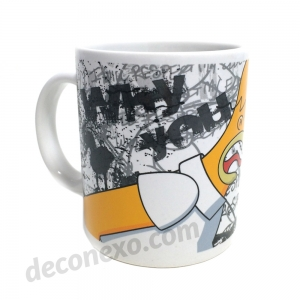 "taza los simpson ""why you little"" :: imagen 3"