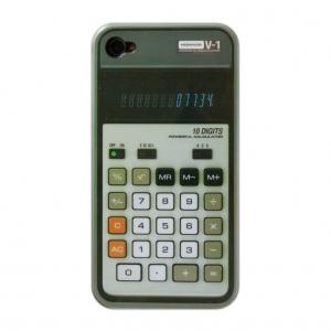 "funda para iphone 4 ""calculadora"" retro"