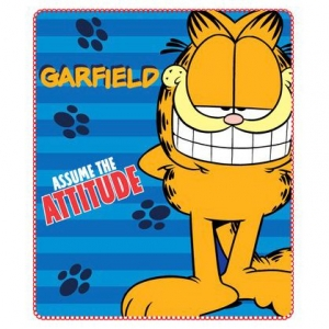 "manta polar garfield ""assume the attitude"" :: imagen 1"