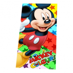 "toalla de playa mickey mouse ""colours"" :: imagen 1"