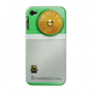 "funda para iphone 4 ""transistor"" retro"