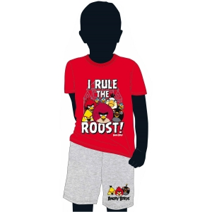 "pijama para niño - angry birds ""i rule the roost!"" / Talla 10 :: imagen 1"