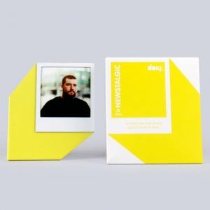 """marco de fotos """"newstalgic pola"""" / amarillo"""