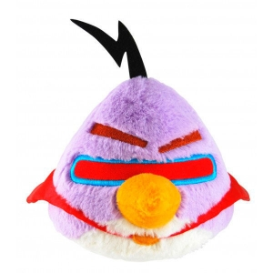 "peluche angry birds space ""lazer"" / 15 cm :: imagen 1"