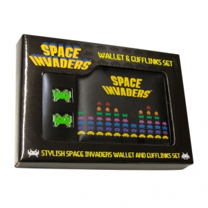 "set de billetera y gemelos ""space invaders"" :: imagen 7"