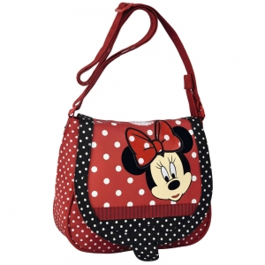 "bolso bandolera con solapa minnie mouse ""you"""