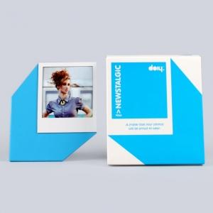 """marco de fotos """"newstalgic pola"""" / azul"""