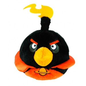 "peluche angry birds space ""firebomb"" / 15 cm :: imagen 1"