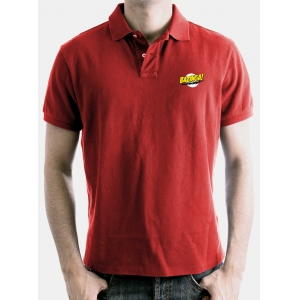 "polo the big bang theory ""bazinga logo"" / Talla XL :: imagen 1"