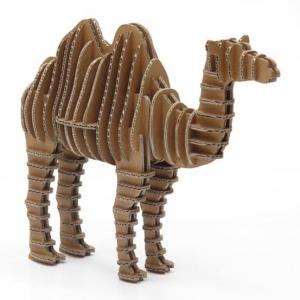 """camello de cartón para construir """"eco camel"""""""