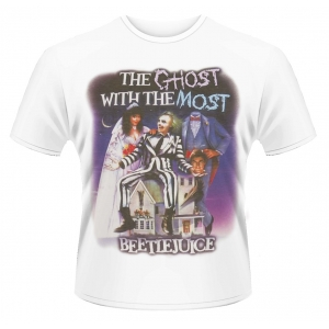 "camiseta beetlejuice ""the ghost with the most"" / Talla L :: imagen 1"