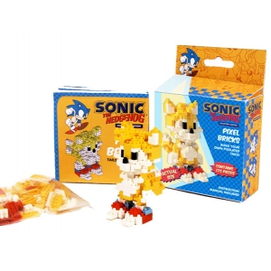 "pixel bricks sonic the hedgehog ""tails"" :: imagen 4"