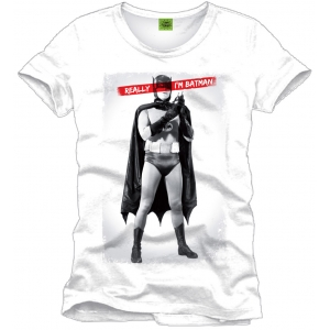 "camiseta batman ""really i'm batman"" / Talla L :: imagen 1"