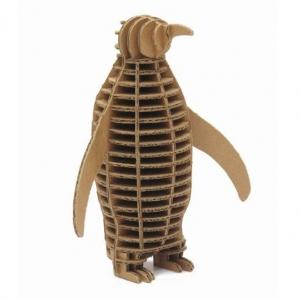 """pingüino de cartón para construir """"eco penguin"""""""
