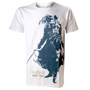 "camiseta assassin's creed iv - black flag ""black beard"" / Talla XL :: imagen 1"